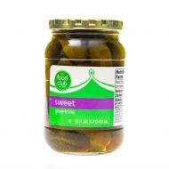 PEPINILLO DULCE ENTERO GHERKINS FOOD CLUB 16 ONZ