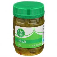 PEPINILLO DULCE TIPO RELISH FOOD CLUB 9 ONZ