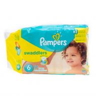 PAÑALES SWADDLERS PASO 6 PAMPERS 16 UND