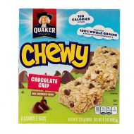 BARRA GRANOLA CHOCOLATE CHIP QUAKER 10 ONZ