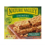 GRANOLA EN BARRA AVENA Y MIEL NATURE VALLEY 8.9 ONZ