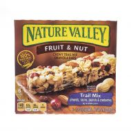 GRANOLA EN BARRA CHEWY FRUTA Y NUECES NATURE VALLEY 10 ONZ