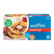 WAFFLES CONGELADO HOMESTYLE FOOD CLUB 10 UND/PAQ
