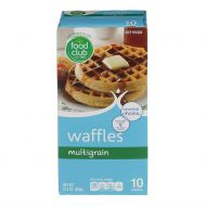 WAFFLES MULTIGRAIN CONGELADOS FOOD CLUB 12.3 ONZ