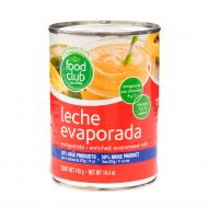 LECHE EVAPORADA FOOD CLUB 410 GR