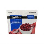 CRANBERRIES CONGELADOS FOOD CLUB 12 ONZ
