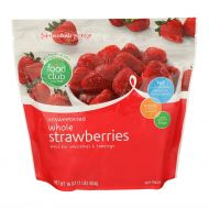 FRESAS ENTERAS CONGELADAS FOOD CLUB 16 ONZ
