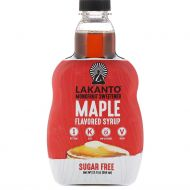 SIROP DE MAPLE MONKFRUIT LAKANTO 13 ONZ