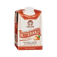CREMA PARA CAFE SIN LACTOSA BETTER HALF SABOR A AVELLANAS CALIFIA 500 ML